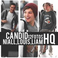 Candid Niall,Louis y Liam by SwaggerNialler