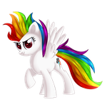 Super rainbow dash :F/D: by xSparklingStarlight