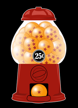 Dragonball Z Dispenser by Tep by artwork-tee