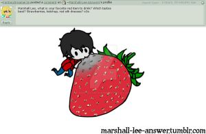Q15. Favorite Food. by Marshall-Lee-Answers