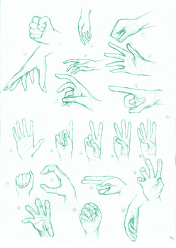 The 50 foot, 50 hand challenge: 20/50 hand by kaichi1342