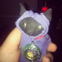 Lucky black cat is not unlucky by UglyDoll311