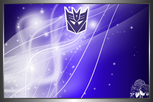 Free Decepticon Logo Background by 2050