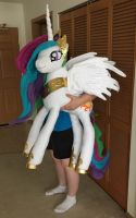 My Latest My Little Pony Plushie - Celestia - Long by AmethystArmor
