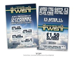 Commercial Twist Fridays Flyer by ALTereg0