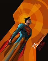 Superman by sterlingvisions