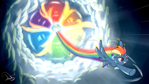 Rain of thousand flames 2 by TwilightSquare