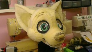 Christmas fursuit WIP 4 by Felixcani