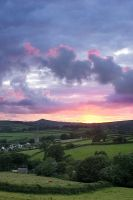 Sunset, Peter Tavy by Alex37