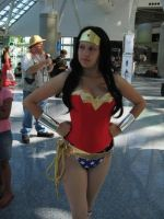 wonder woman at Anime Expo by My2Wings