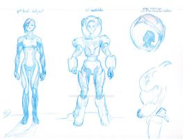 Character design exercise by innerpeace1979