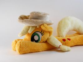 Applejack and her hat! by SailorMiniMuffin