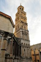 St Domnius belltower - Split by wildplaces