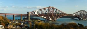 Forth Rail Bridge by RevelationSpace