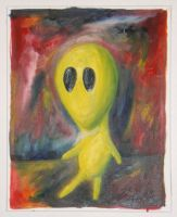 Yellow Alien by Peacewise