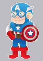 Captain America by GHussain