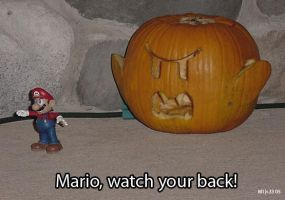 Watch Your Back Mario by mikee99