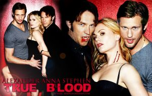 True Blood Alex-Anna-Stephen by hazelxxx