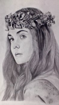 Elle Fanning as Aurora by Deanatius