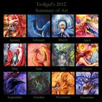 The fruits of 2012 by TrollGirl