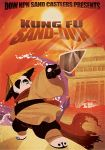 Kung Fu Sand-duh Poster by YinDragon