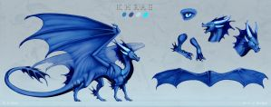 Reference sheet: Khrae 2 by Adalfyre