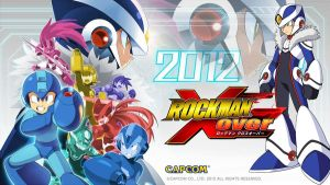 Rockman Xover Wallpaper by Mega-X-stream