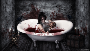 Elizabeth Bathory de Ecsed by ValantisDigitalArt