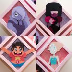 Crystal Gems Details by PlaidCushion