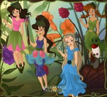 My Favorite Disney Fairies 1 by k2pony