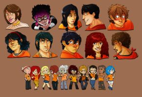 Who's That Demigod 1 - 10 by LuckySquid