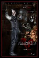 Sweeney Todd Movie Poster XVI by Rickbw1