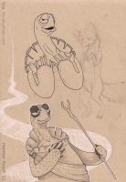 Master Oogway by fala