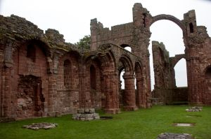 Lindisfarne Priory 1 by RaeyenIrael-Stock