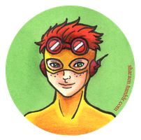 Wally West by Liraen