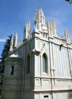 Mount Olivet Cemetery Mausoleum 211 by Falln-Stock