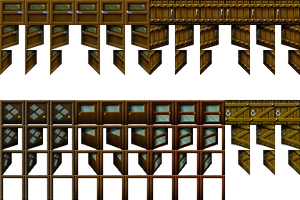 RPG Maker VX - Door I-2 by Ayene-chan