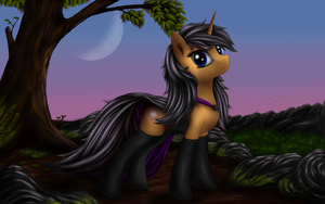 The Dark Queen [Ponification] by Pony-Stark