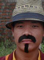 Monks in Mustaches 6 by ReivunChi