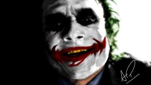 The Joker SMILE by AngryPIG