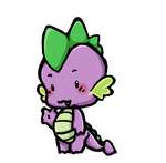 Spike Chibi by Inya-spring