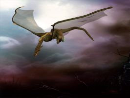 Dragon Wallpaper 1600x1200 by Shoofly-Stock