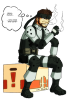 Solid Snake Collab by FontesMakua