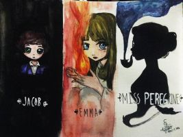 Miss Peregrine's Home for Peculiar Children by charlesgwenart