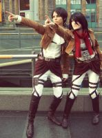 AOT - The titans are coming! by SnowBreeze-Puff