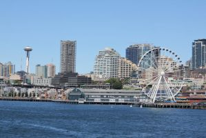 Seattle Wheel by Fired-Imagination