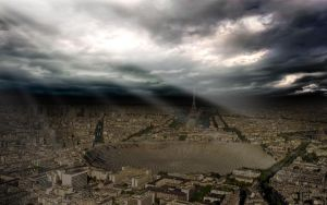 God's Finger in Paris by guillaume-phoenix