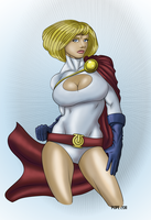 Power Girl by hulkdaddyg