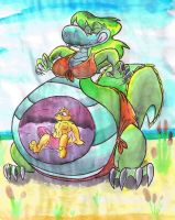 Life Guard Vore. by Virus-20