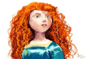Merida by dumblyd0re